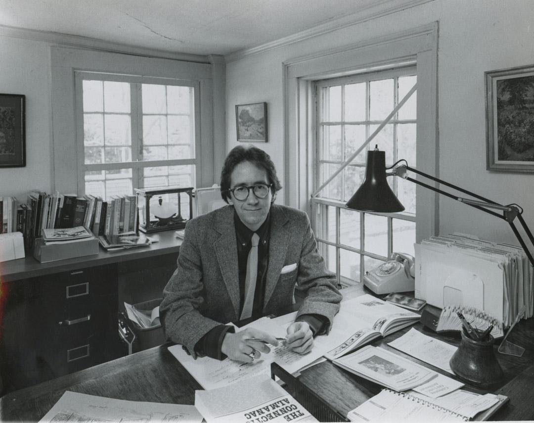 1976年,剛剛到弗洛倫斯博物館工作的安德森。