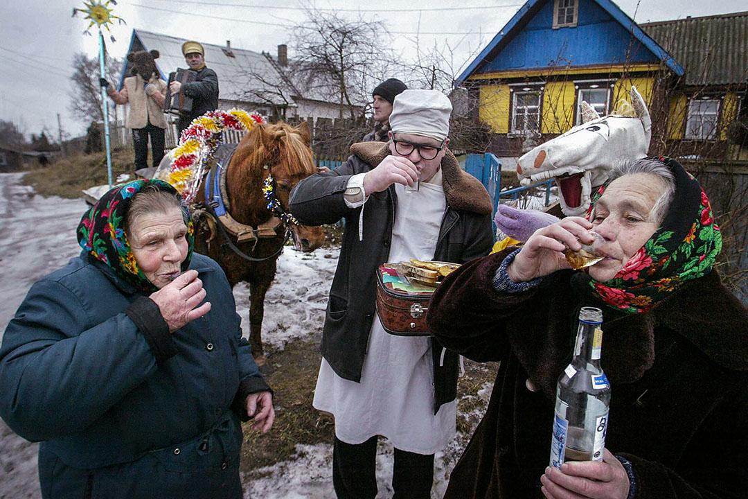 在白俄羅斯這個國家裏,對過往歷史的敘述是模糊而片段化的。  攝:Viktor Drachev/AFP via Getty Image