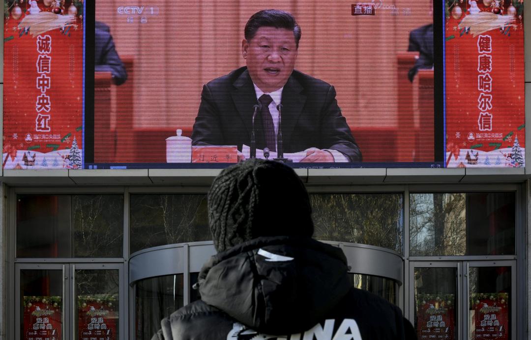 2018年12月18日,慶祝改革開放40周年大會在北京舉行,中共中央總書記、國家主席習近平出席大會並發表講話。 攝:Tao Zhang/Getty Images