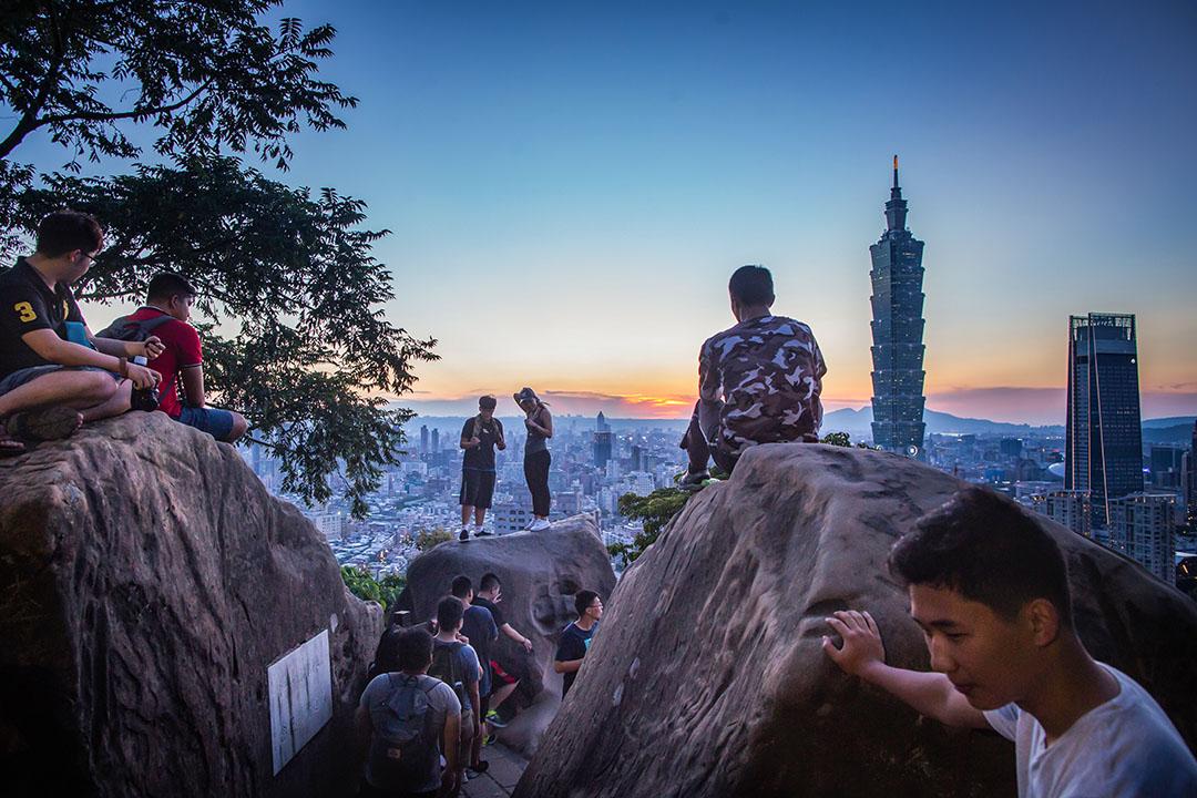 在有關領土完整的所有問題中,台灣是北京有著最大失敗風險的一個。圖為台北市。