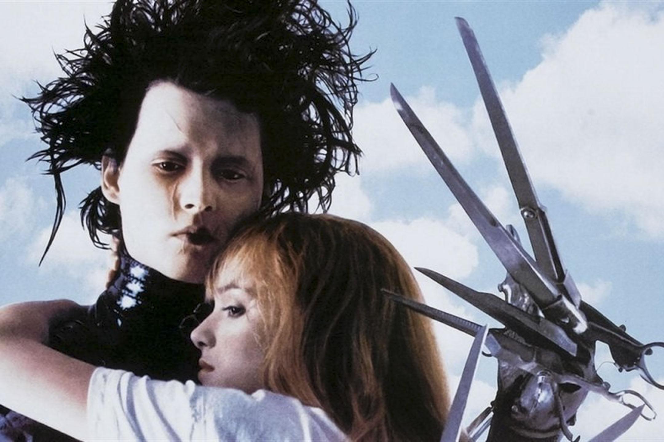 《Edward Scissorhands 剪刀手愛德華》電影劇照。 網上圖片