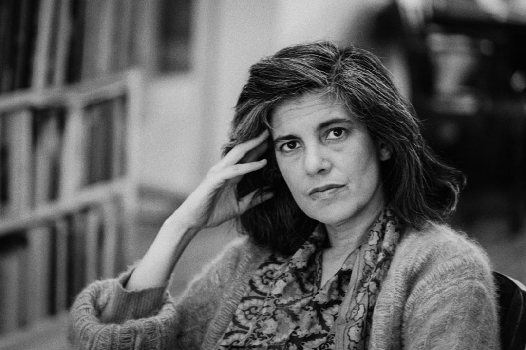 美國左翼文藝評論名家蘇珊·桑塔格(Susan Sontag)。