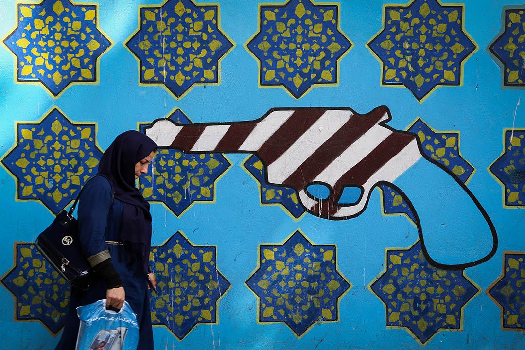美國對伊朗的制裁,可謂「歷久彌新」。 攝:Atta Kenare/AFP via Getty Images