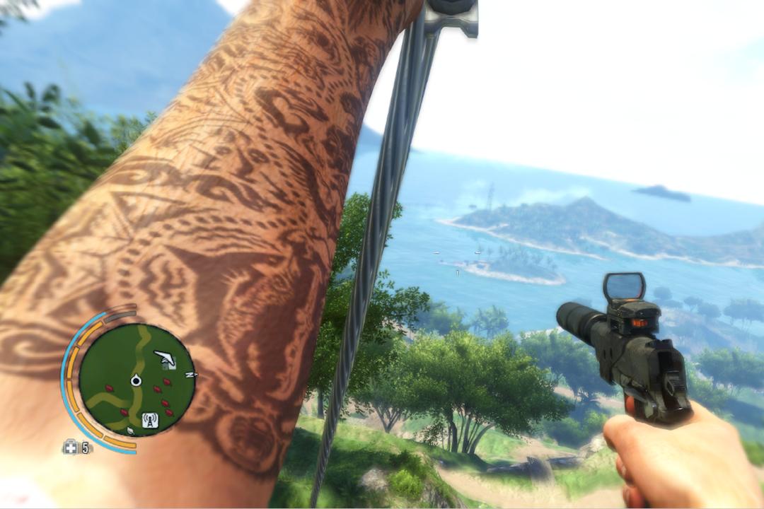 好酷的紋身啊!