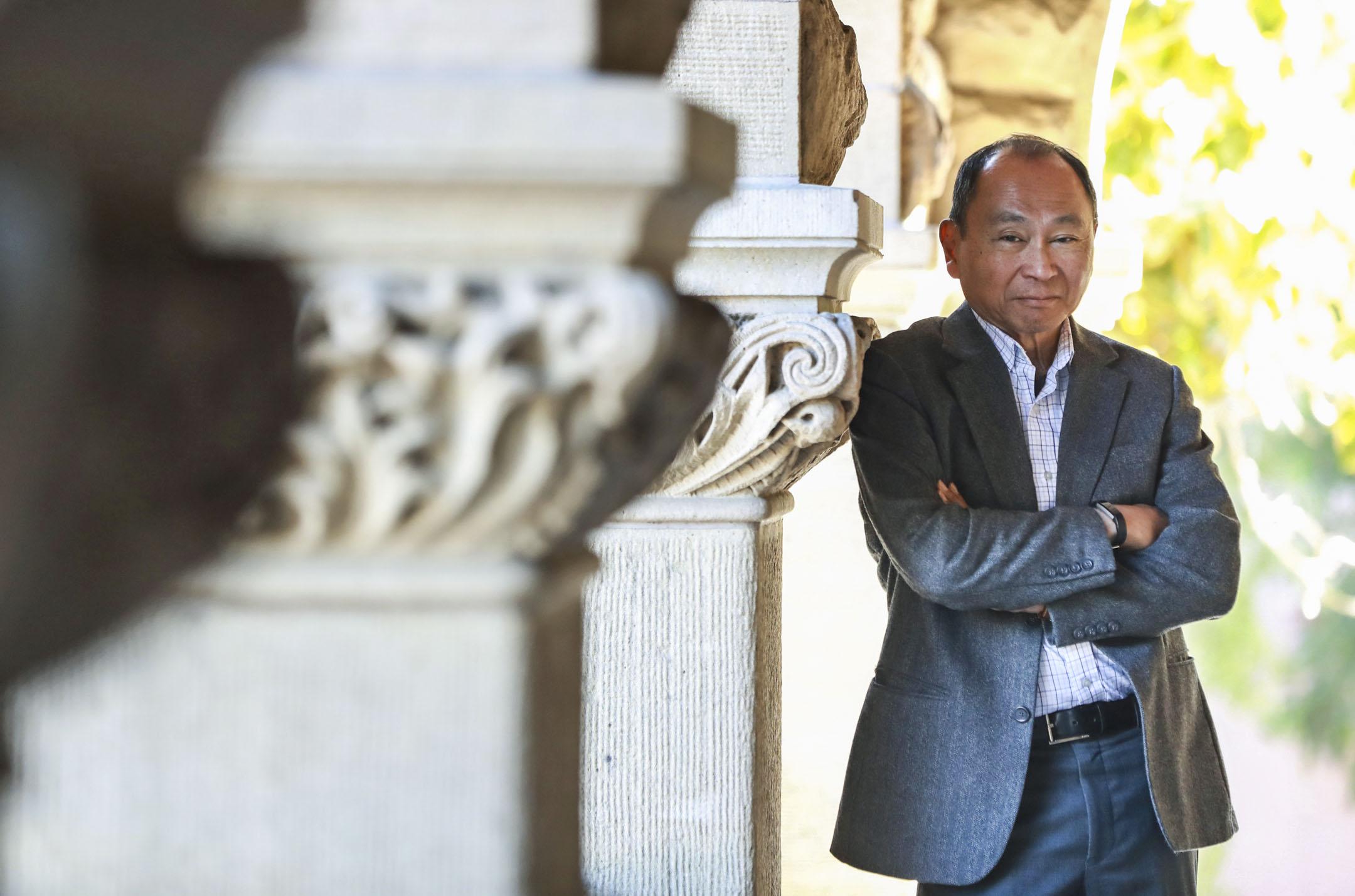 弗朗西斯·福山(Francis Fukuyama),美國作家、政治經濟學者。最新著作《身份認同:對尊嚴的要求以及憤懣的政治(Identity: the Demand for Dignity and the Politics of Resentment)》剛於2018年九月在美國出版。 攝:Daisuke Tomita /Imagine China