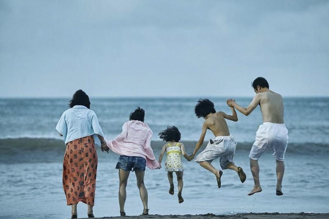 《小偷家族》電影劇照。