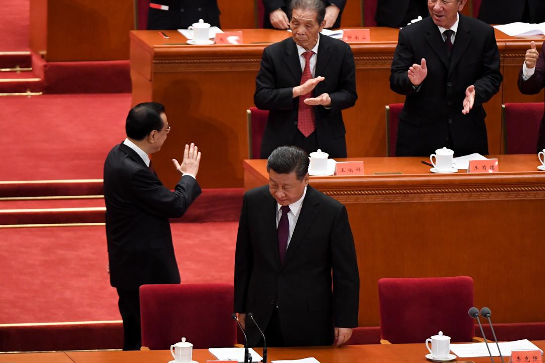2018年12月18日,慶祝改革開放40周年大會在北京舉行,中共中央總書記、國家主席習近平出席大會並發表講話。 攝: Wang Zhao/AFP/Getty Images