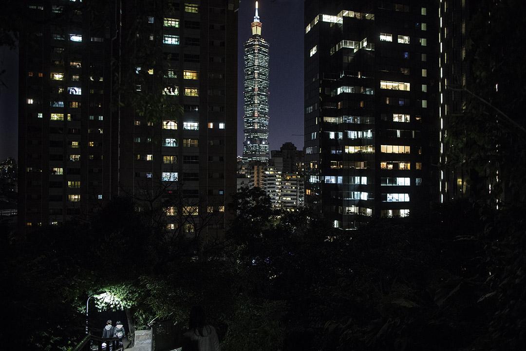 彭康豪說,台灣已經是一個國家,缺的是其他國家的認同。圖為台北。