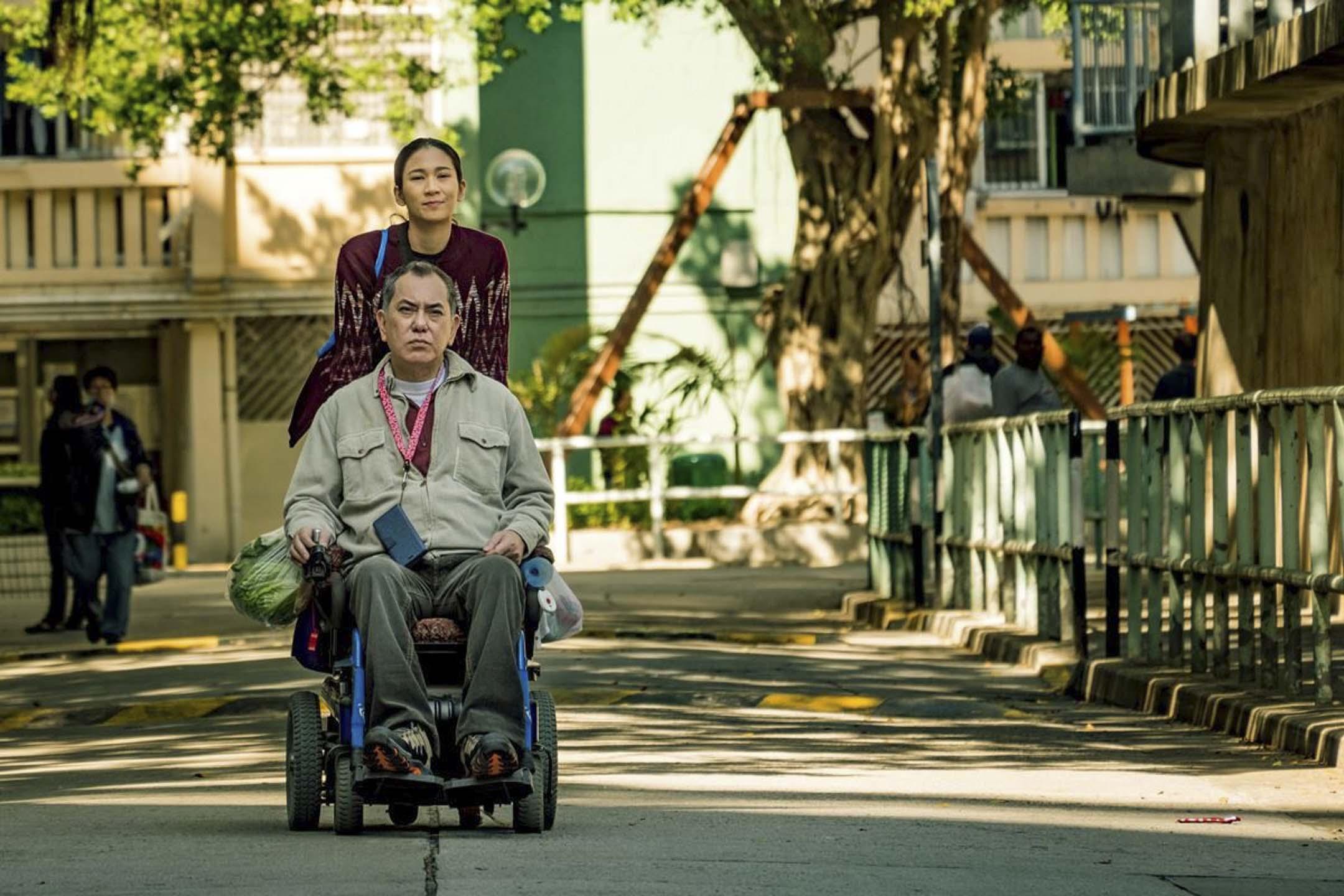 《淪落人》電影劇照。 網上圖片