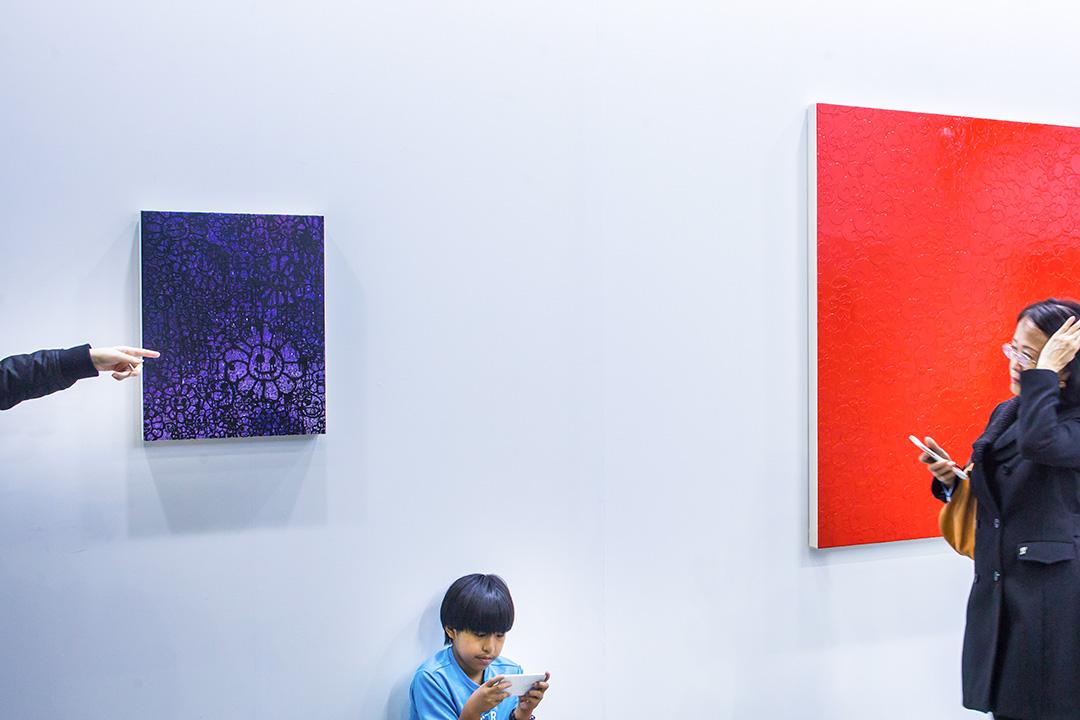 台北當代藝術博覽會。