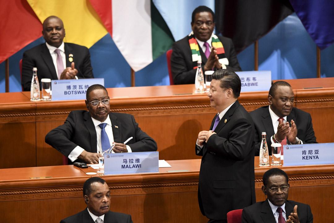 2018年9月,中非合作論壇北京峰會召開,更提出打造「中非命運共同體」,中國與28個非洲國家和非盟簽署了「一帶一路」合作文件。