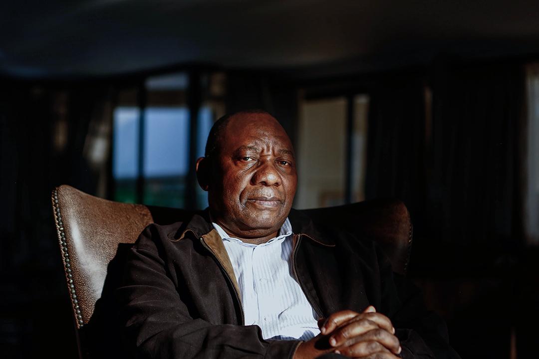 拉馬福薩2019年帶領非國大繼續執政的道路並不平坦,這之中有不少的「坑」更是他自己給自己挖好的。   攝:Moeletsi Mabe/Gallo Images via Getty Images