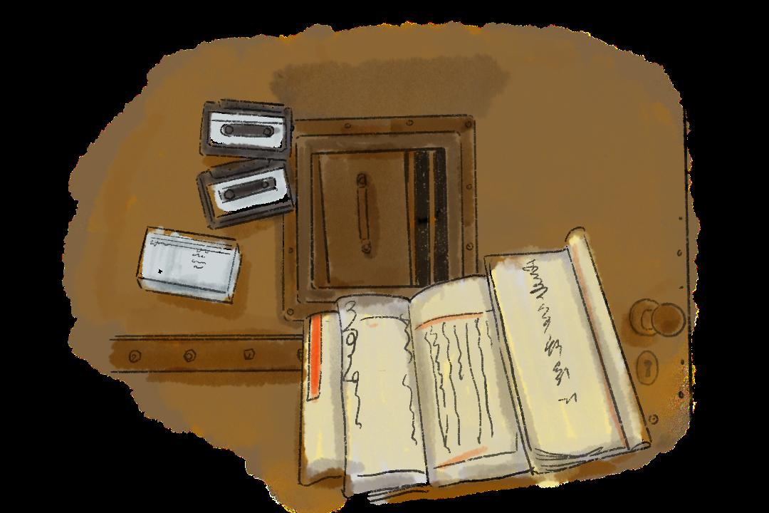 張春元傳給譚蟬雪的那些紙條,全被女醫生交上去了,作為「反革命集團案」的證據。