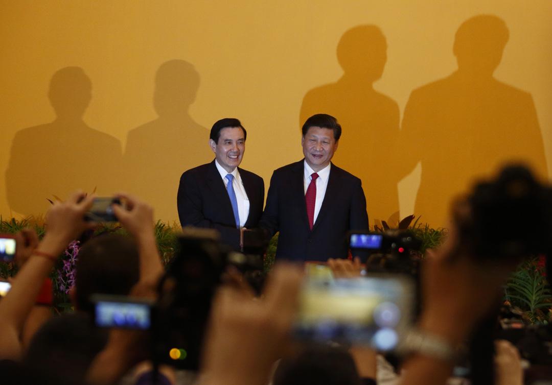 2015年11月7日,時任台灣總統馬英九與中國國家主席習近平在新加坡舉行會晤。