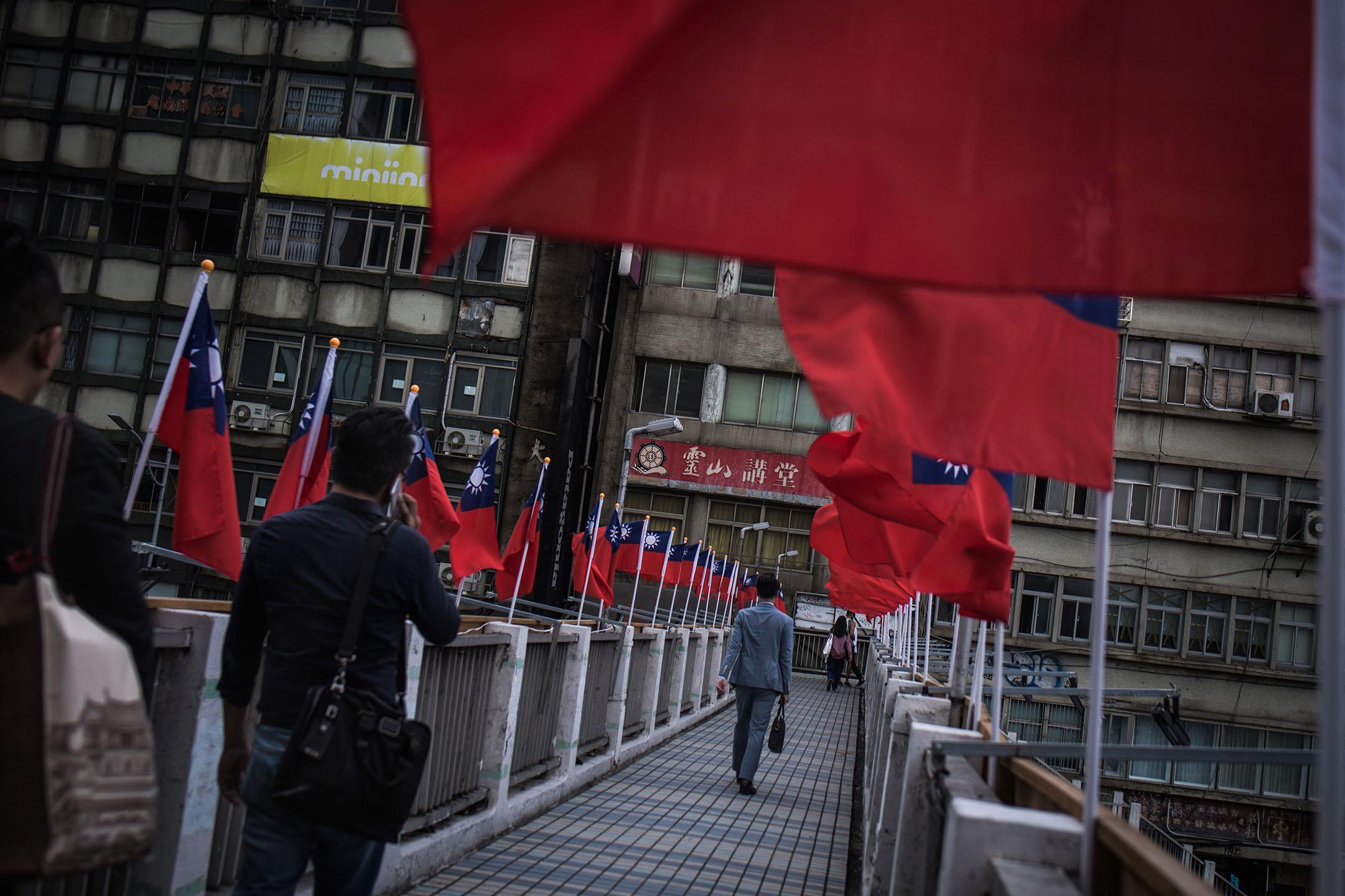 台灣台北市。 攝:陳焯煇/端傳媒