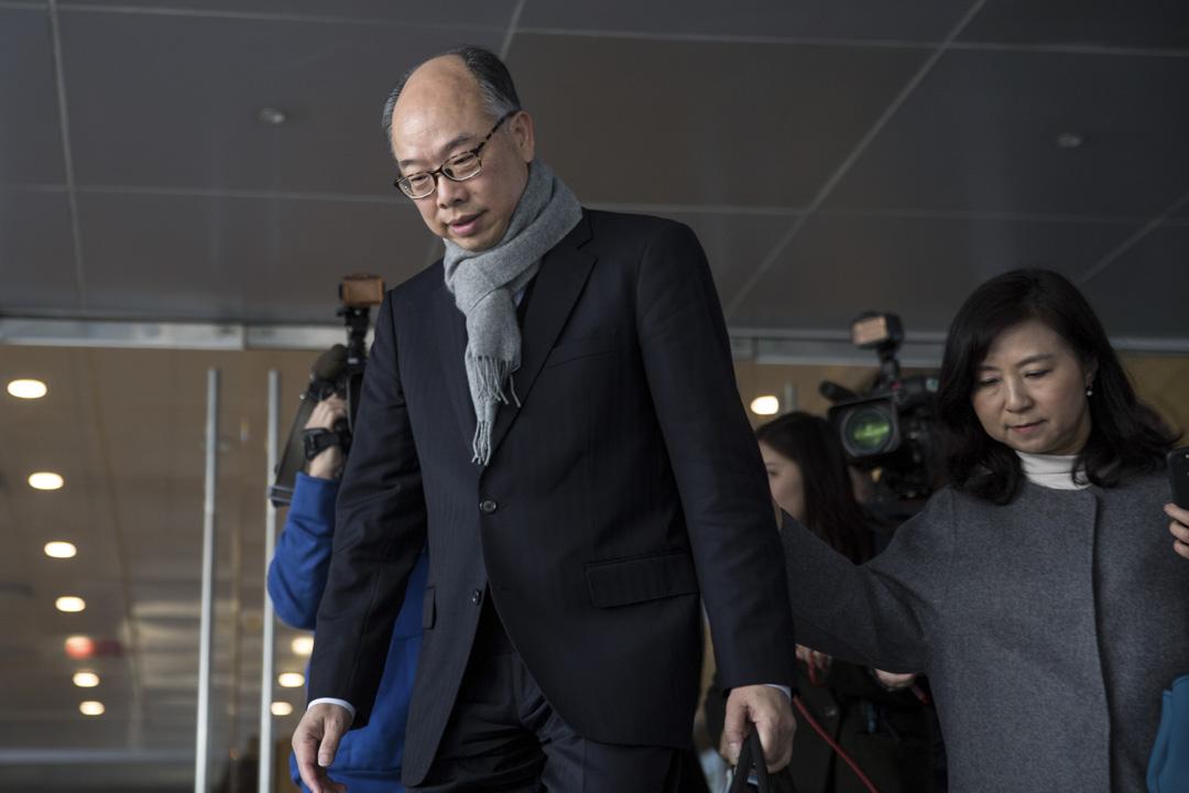 2018年12月17日,運輸及房屋局局長陳帆出席沙中線紅磡站獨立調查委員會聆訊並首度作供。