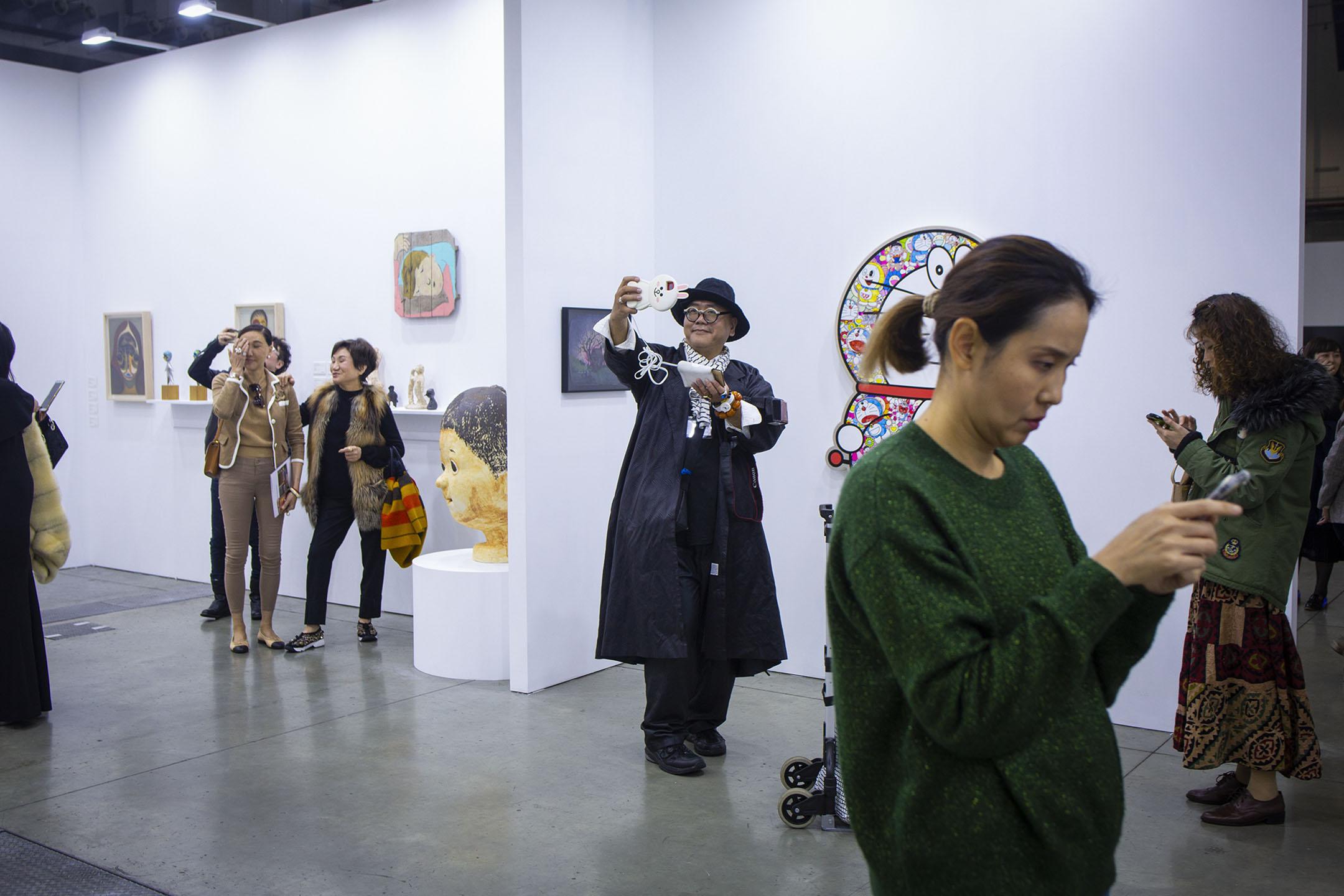 台北當代藝術博覽會。 攝:陳焯煇/端傳媒