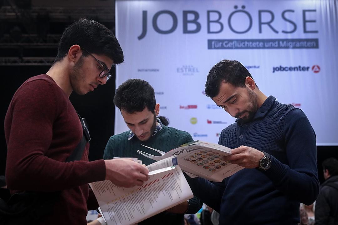 德語的高門檻與來自就業中心的壓力,成了難民求學之路最主要的絆腳石。