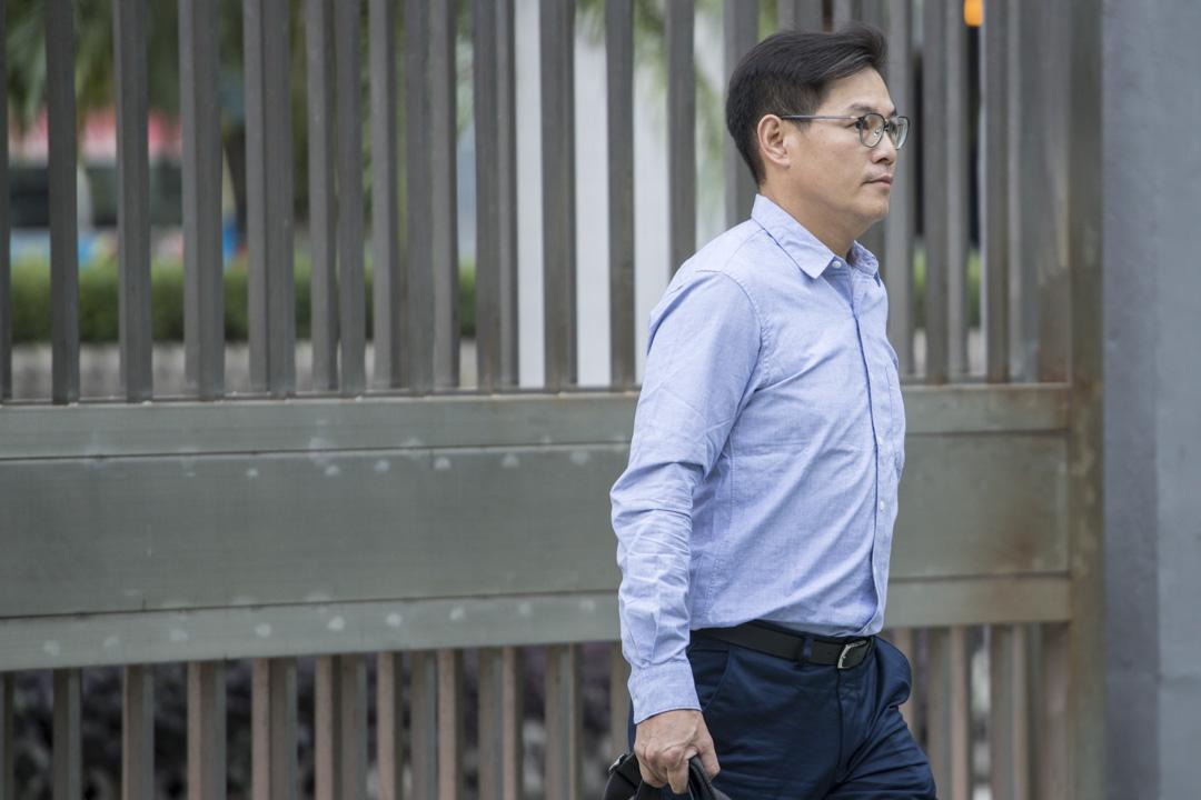 2018年11月8日,泛迅建築公司監工張釗鋒出席沙中線紅磡站獨立調查委員會聆訊。