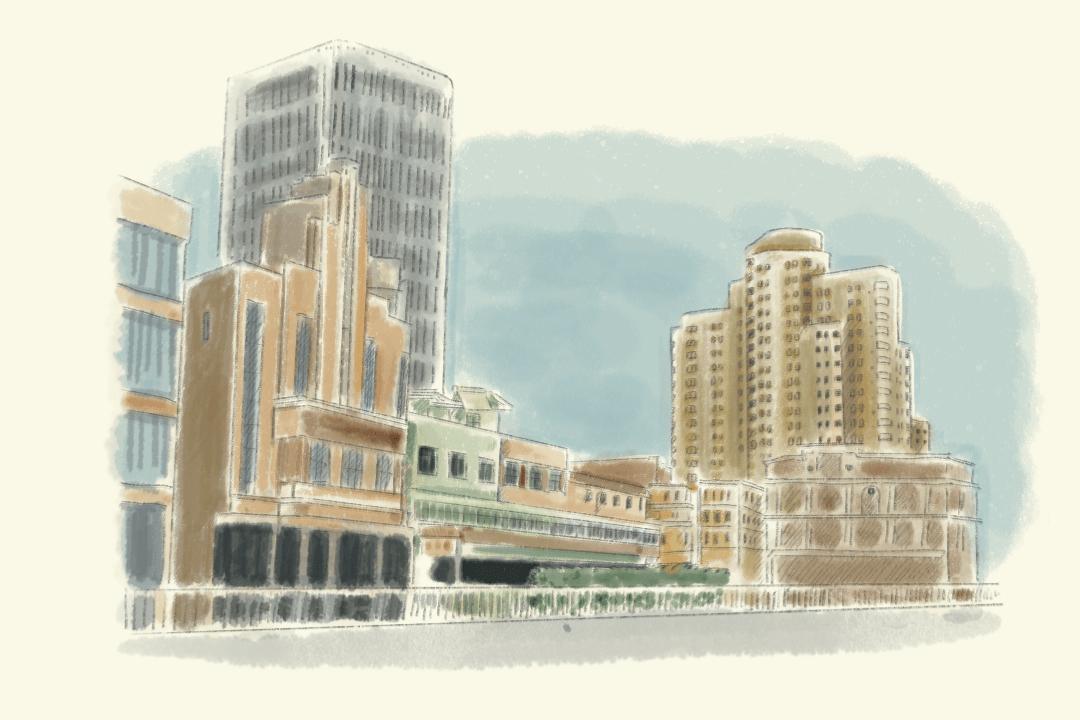 四川北路海寧路,中國電影發祥地,亦是上海最大的廣東移民聚集區之一。