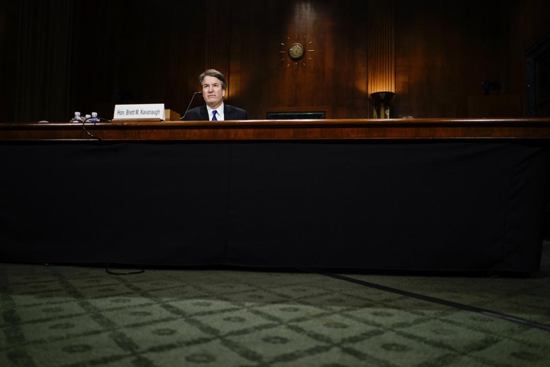 參議院就最高法院大法院提名案舉行聽證會。