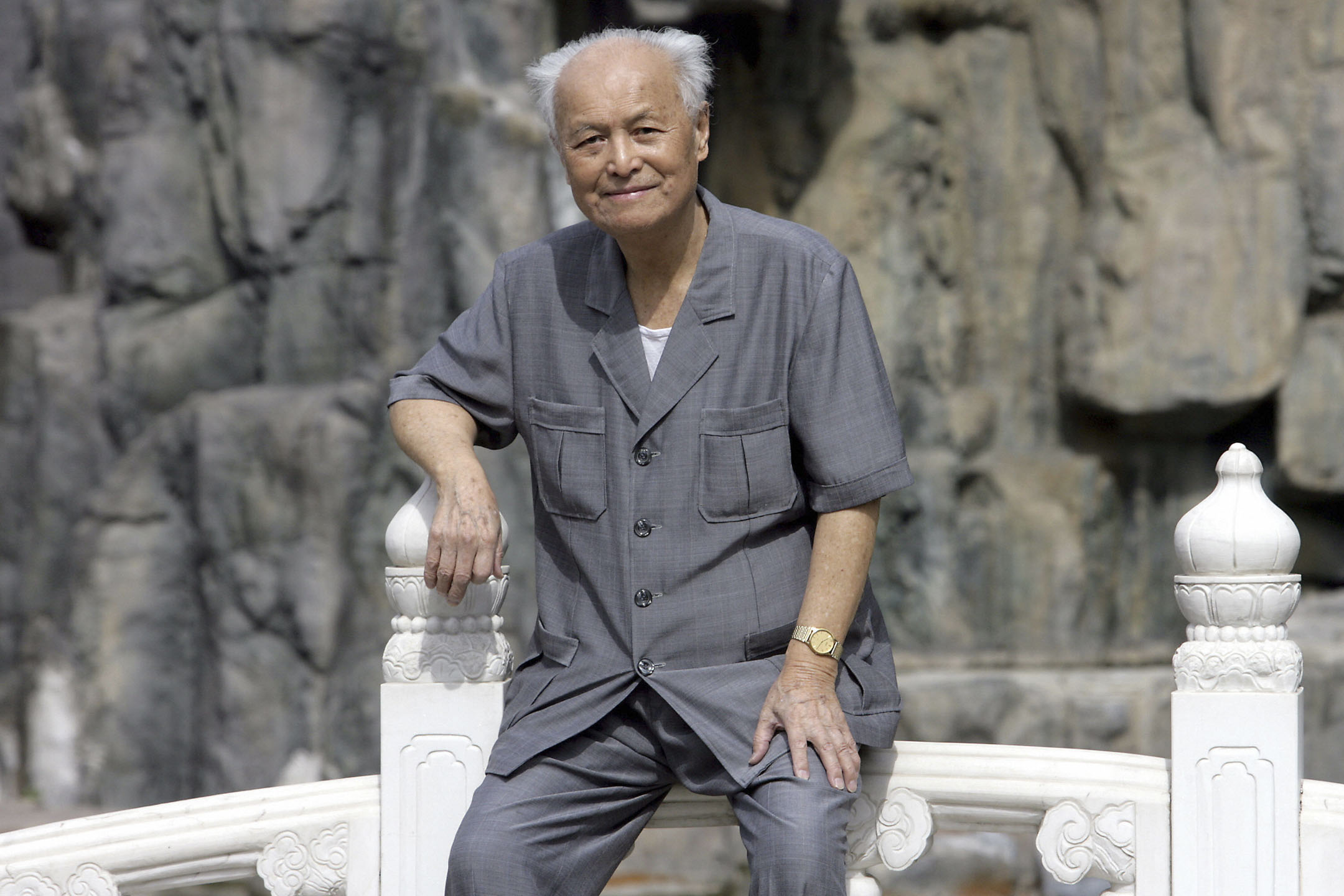 2019年2月16日,中共已故領導人毛澤東的前秘書李銳在北京逝世,享年101歲。 攝:Goh Chai Hin/AFP/Getty Images