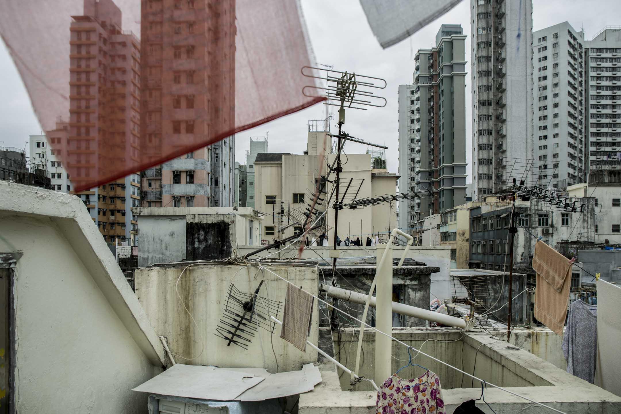 油麻地。 攝:林振東/端傳媒