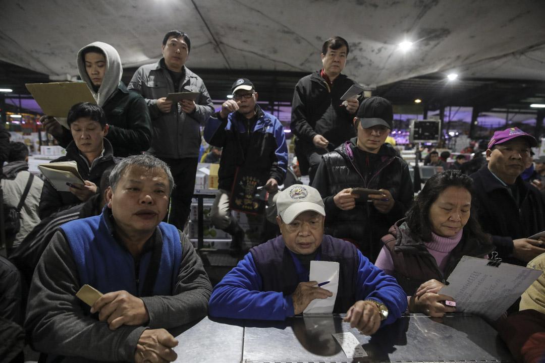 台北農產運銷公司。