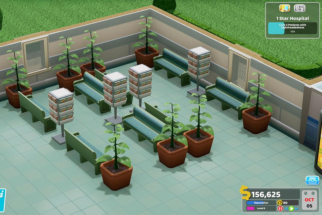 曾經綠意盎然的醫院走廊。