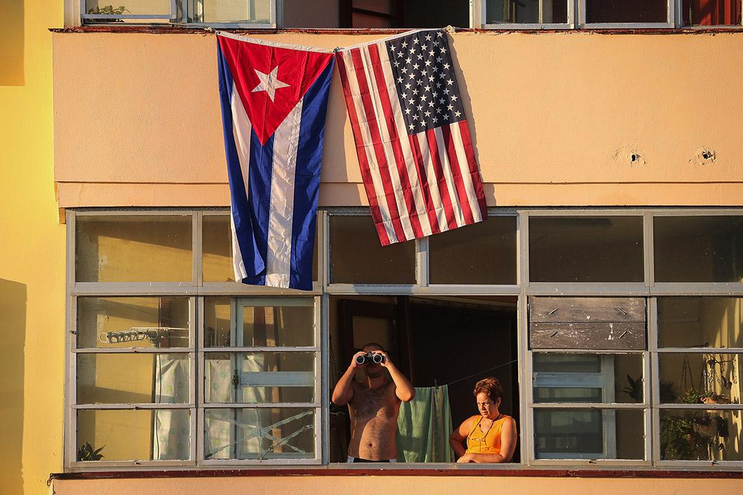 美國和古巴於2014年12月恢復外交關係,古巴才慢慢重新與西方國家建立了聯繫。圖為古巴夏灣拿。