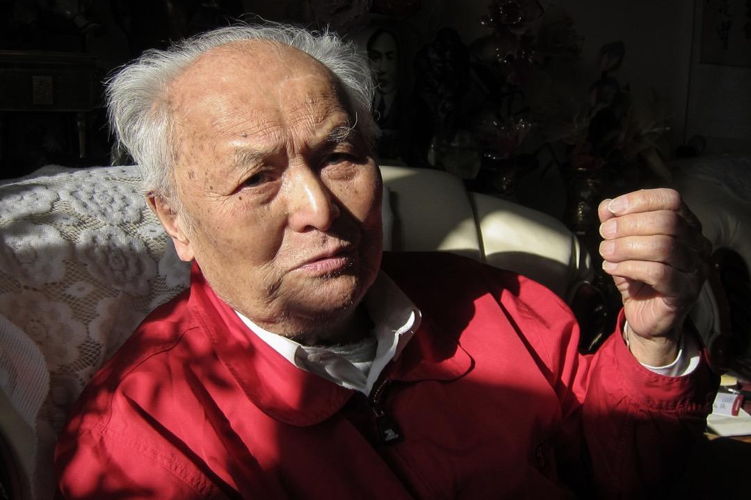 2019年2月16日,中共已故領導人毛澤東的前秘書李銳在北京逝世,享年101歲。 攝:South China Morning Post via Getty Images