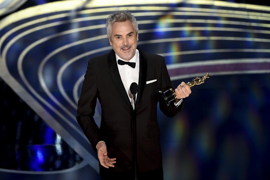 《Roma》艾方素古朗獲得導演、攝影和最佳外語片三獎。
