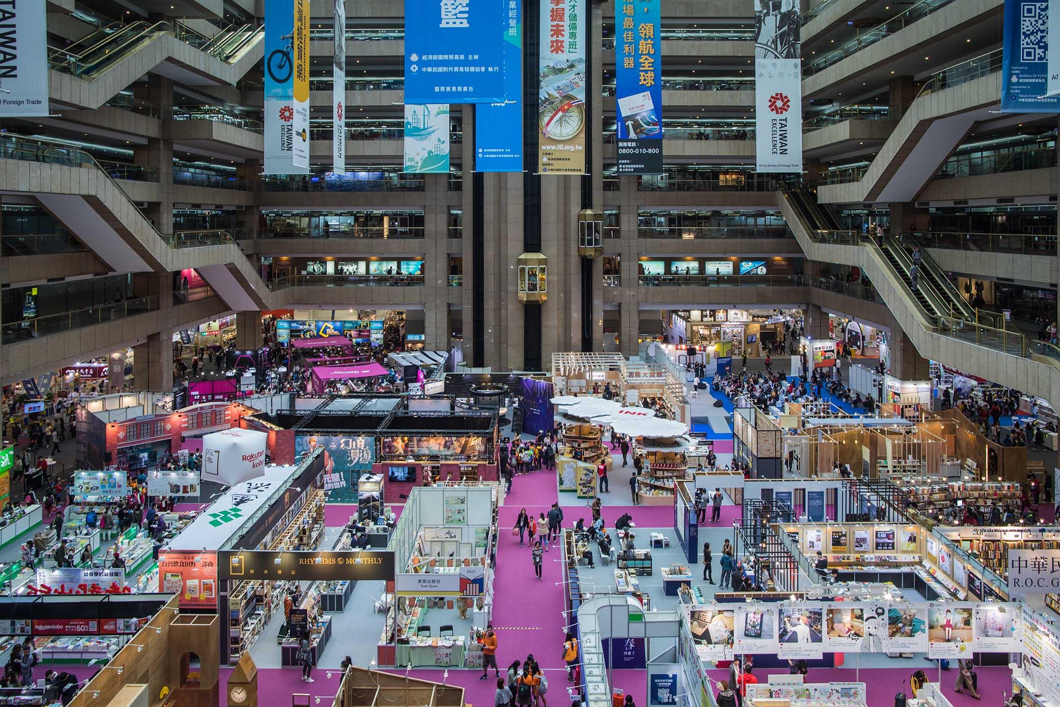 台北國際書展2019。 攝:陳焯煇/端傳媒