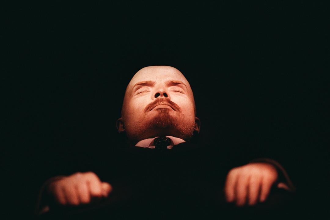 列寧遺體。