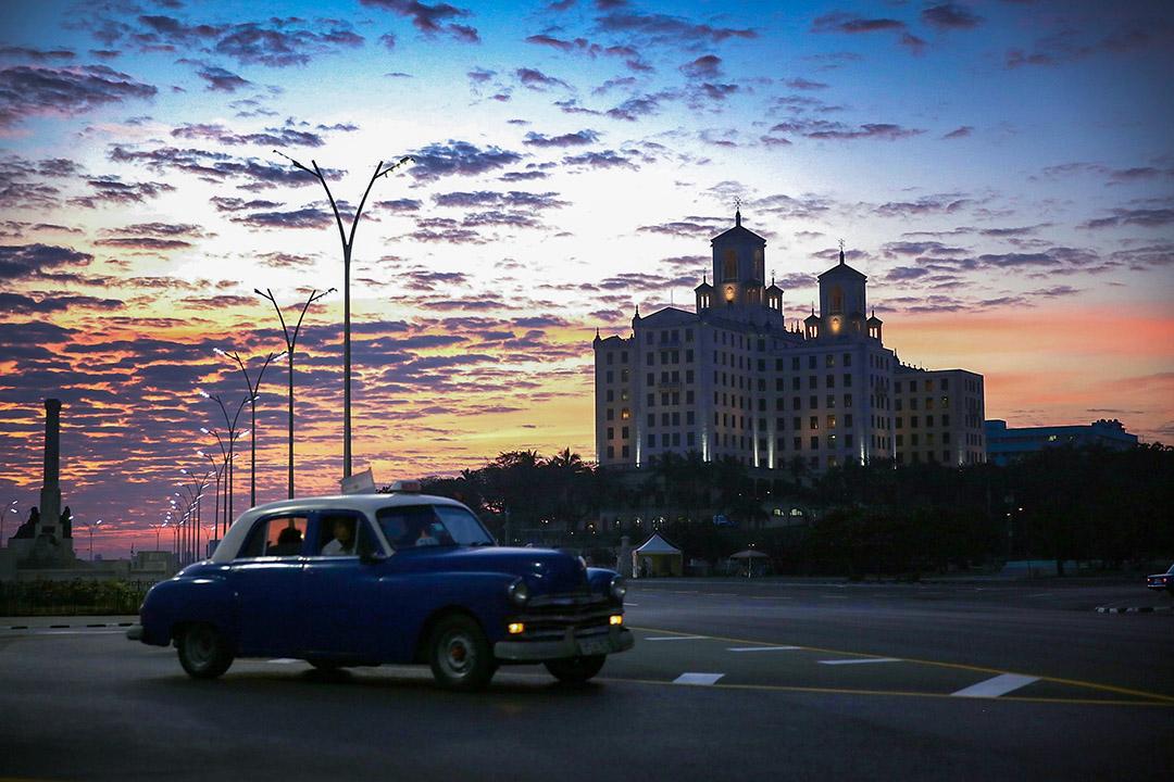 古巴夏灣拿的國家酒店。
