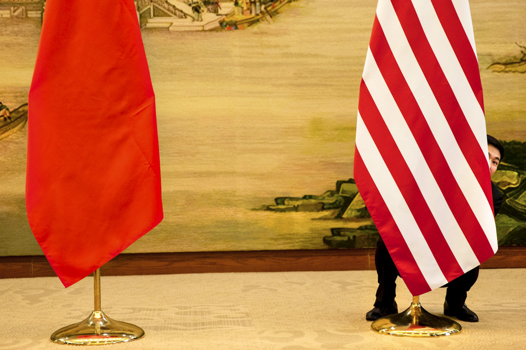 2019年雖是中美建交四十週年,美國的政策精英們卻開始質疑過去四十年對華的「參與」政策,並且開始了對中美是否應該「脱鈎」的熱烈討論。在此大背景下,美國對華政策圈子的口徑漸漸變得一致,一些人甚至宣稱中美進入了新的「冷戰」。 攝:Acquelyn Martin/AFP/Getty Images