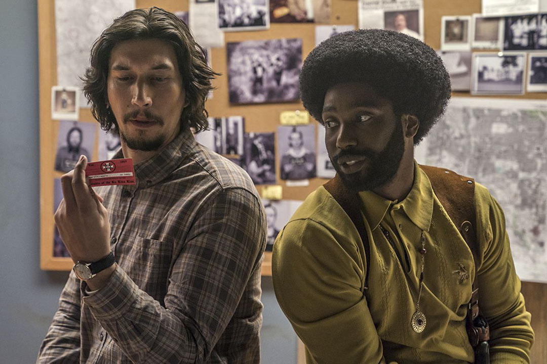 《BlacKkKlansman》(黑色黨徒)電影劇照。