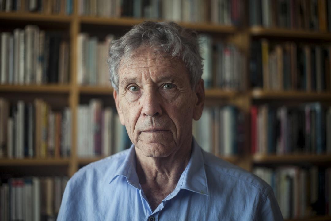 2018年12月28日,以色列作家阿莫斯奥兹( Amos Oz)因癌症去世,終年79歲。 攝:Dan Balilty/AP
