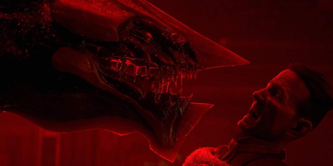 《愛‧死‧機器人》之《索妮的優勢》截圖。