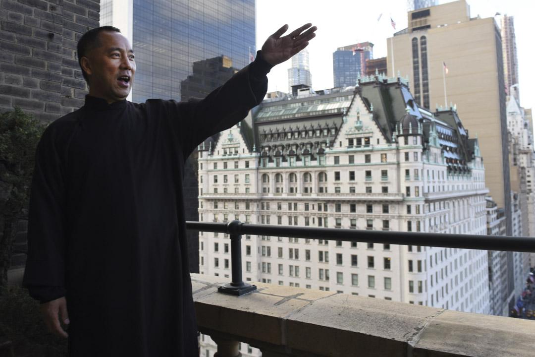 2017年11月28日,郭文貴在美國尋求庇護。
