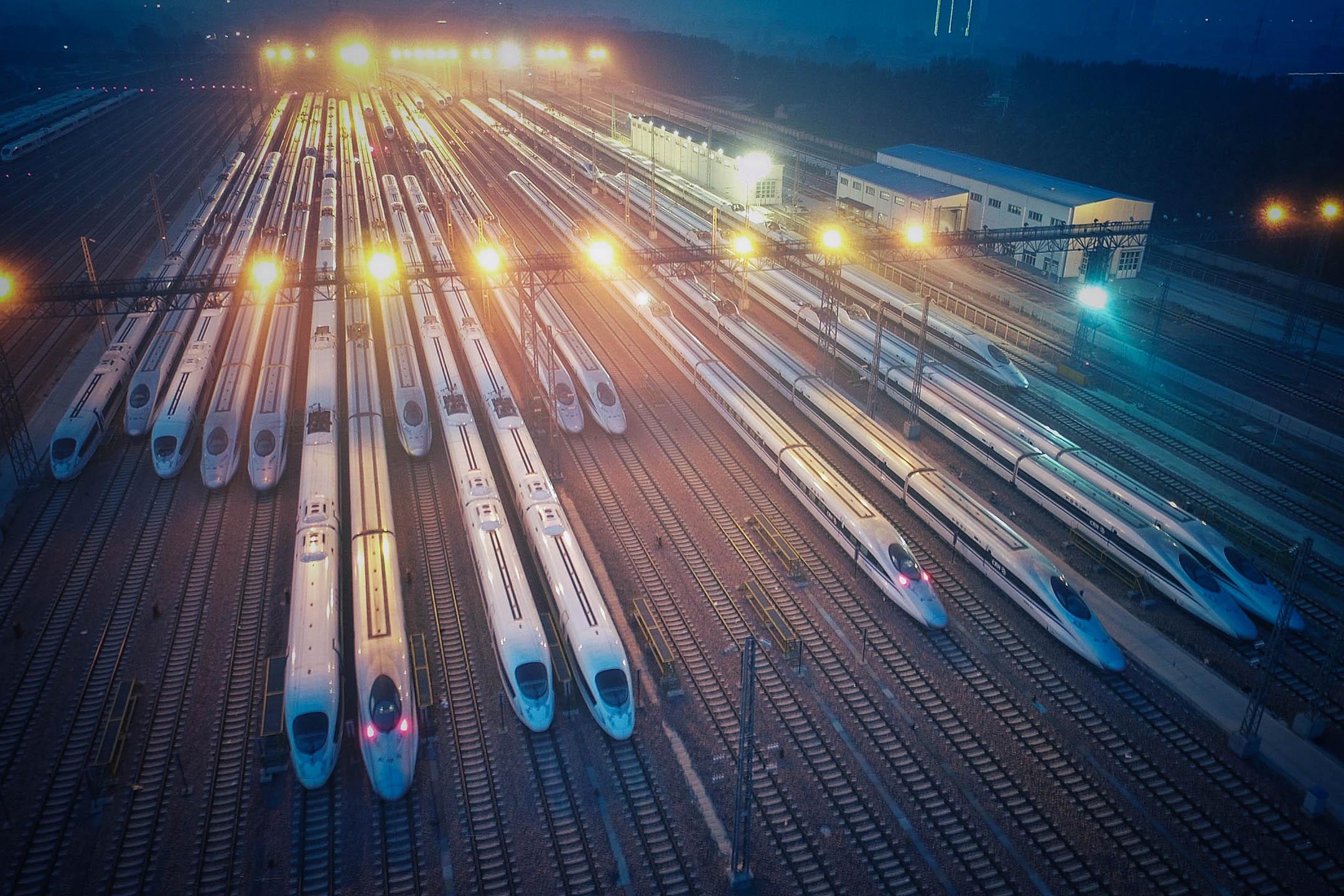 2016年6月20日,中國河南高鐵工廠。 圖:VCG via Getty Images