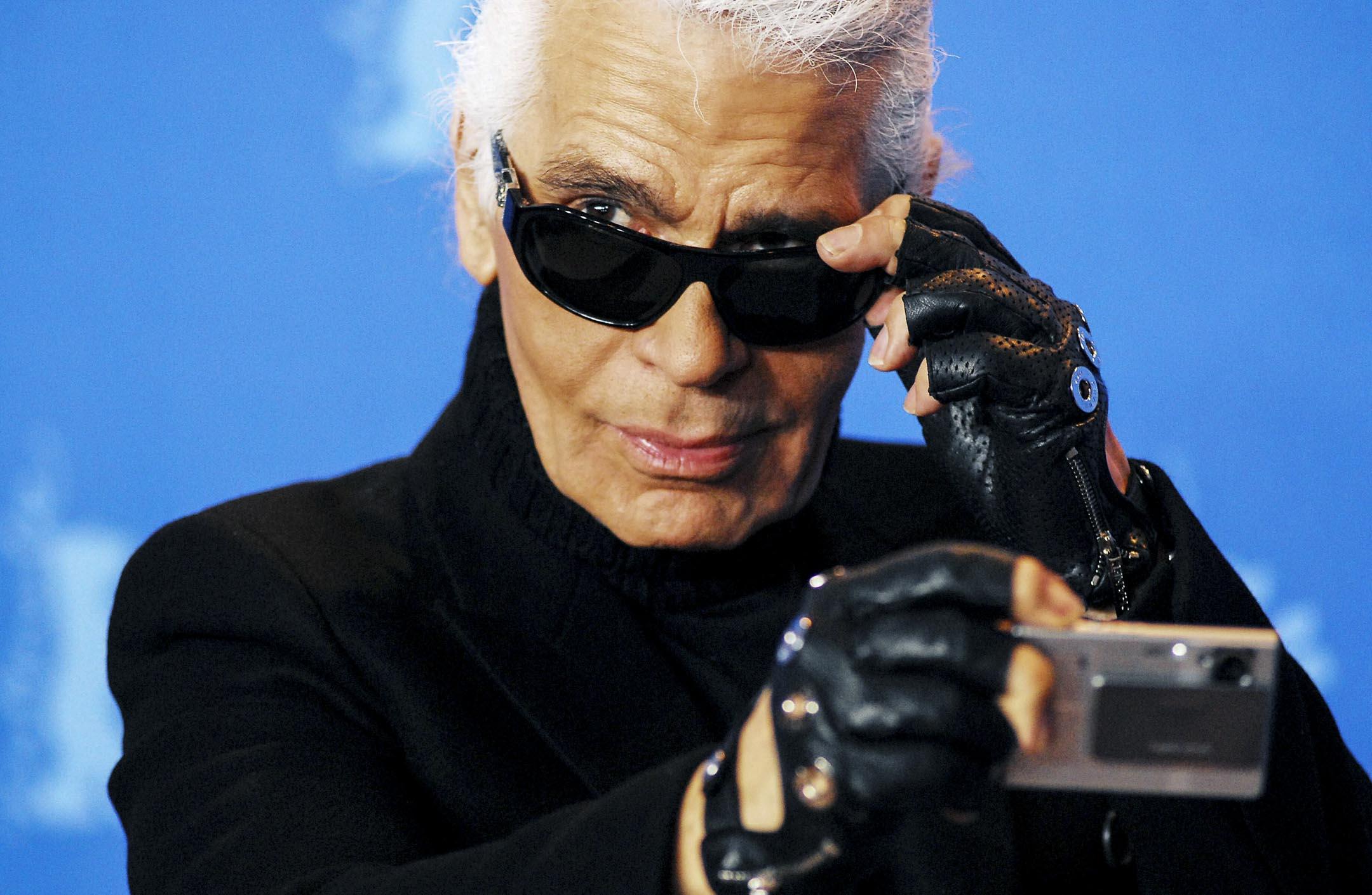 2019年2月19日,Karl Lagerfeld因病於巴黎去世,享年85歲。 攝:Imagine China