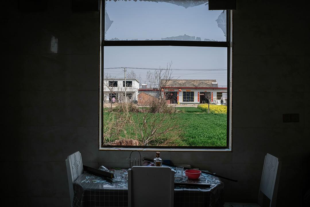 2019年3月24日,陳家港鎮一間受損的房屋。