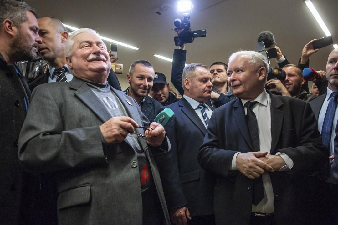 2018年11月22日,華里沙和卡欽斯基多年來第一次見面。