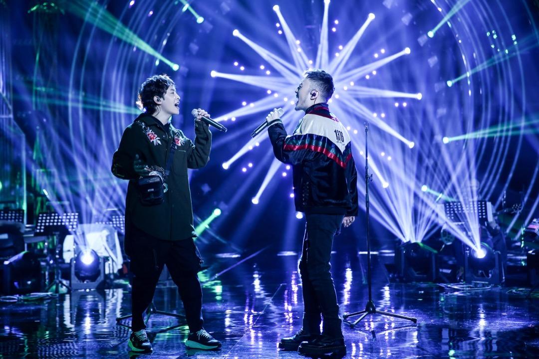 藏族組合ANU在中國綜藝節目《歌手》上表演。 圖:Imagine China