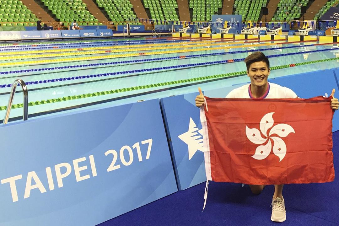 保持16項香港紀錄的游泳選手杜敬謙於美國訓練期間猝逝,終年26歲。 圖片來源:杜敬謙 Facebook