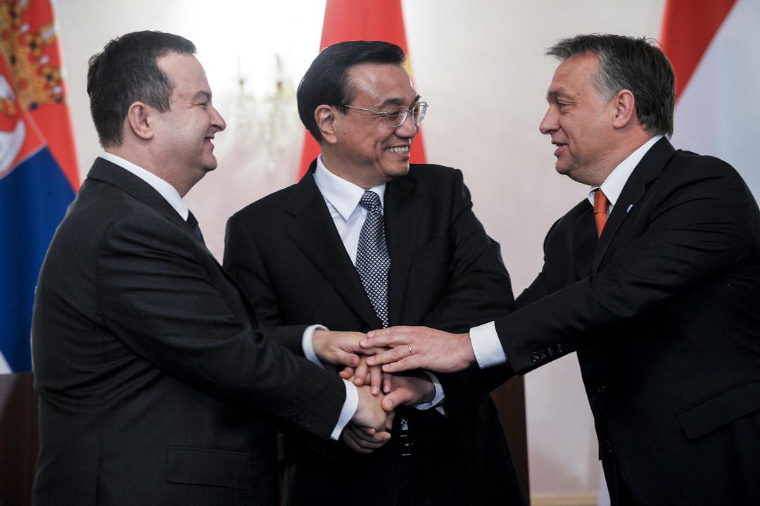 2013年11月25日,中國總理李克強、匈牙利總理歐爾班(Viktor Orbán)和塞爾維亞總理達契奇(Ivica Dačić)宣布:作為「一帶一路」的一部分,連接匈牙利首都布達佩斯與塞爾維亞首都貝爾格萊德鐵路將被升級重建。
