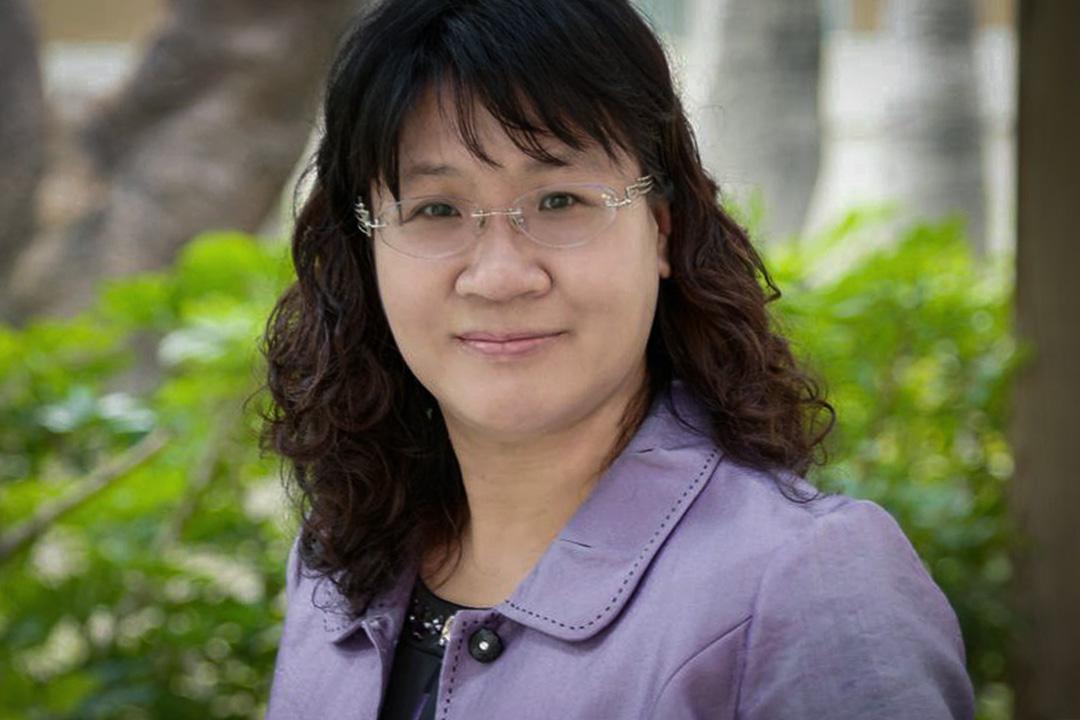 高雄女中林香吟校長。