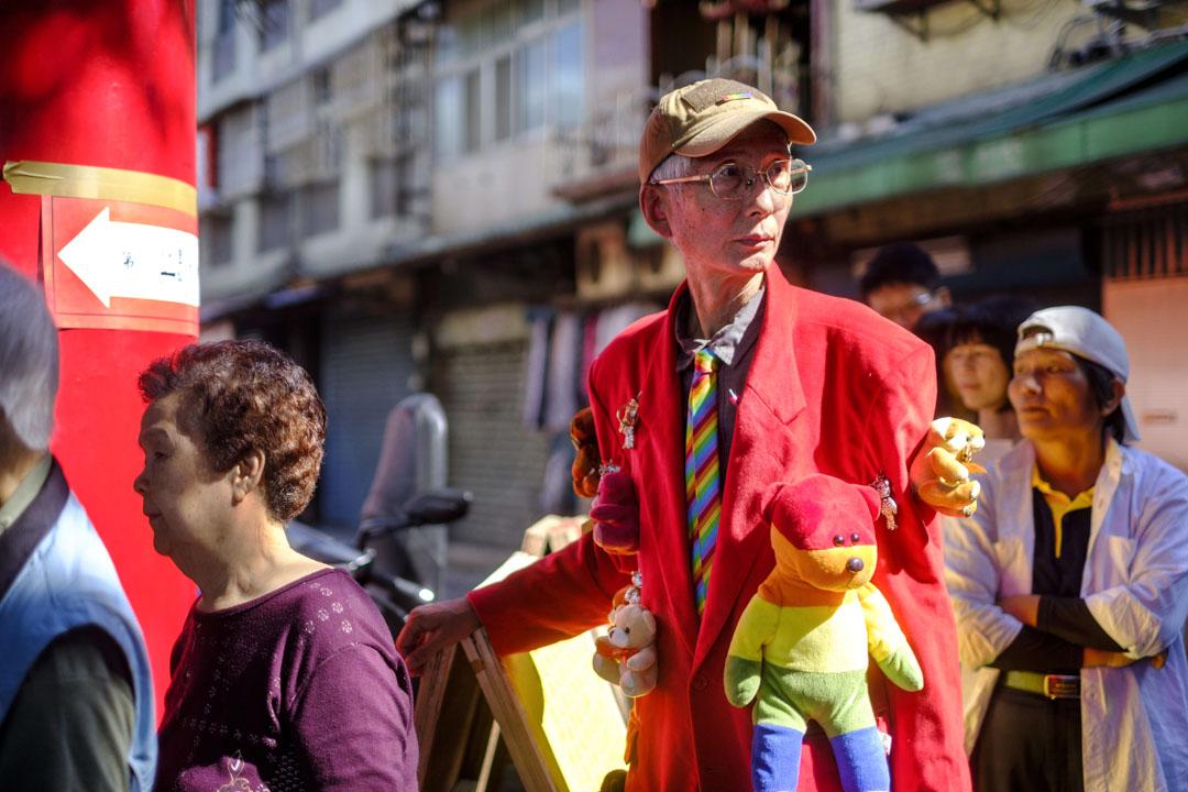 2018年11月24日,祈家威在台灣同性婚姻公投日向公眾呼籲爭取支持。