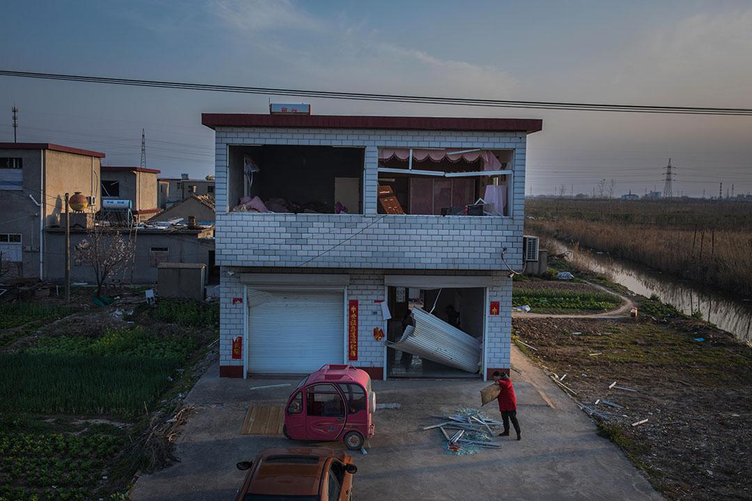 村民韓松的房子。